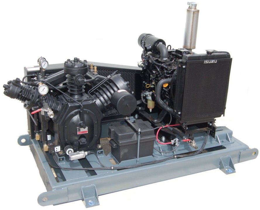 High Pressure Gas Compressor : High pressure air inert gas compressors archives used
