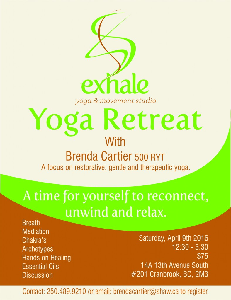 April Yoga Retreat