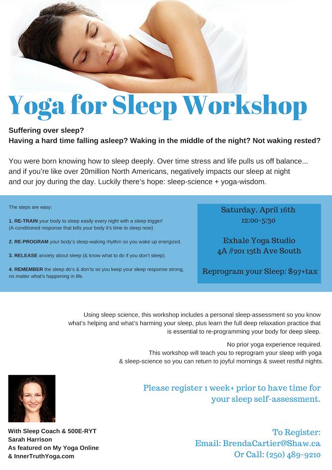 Yoga Sleep