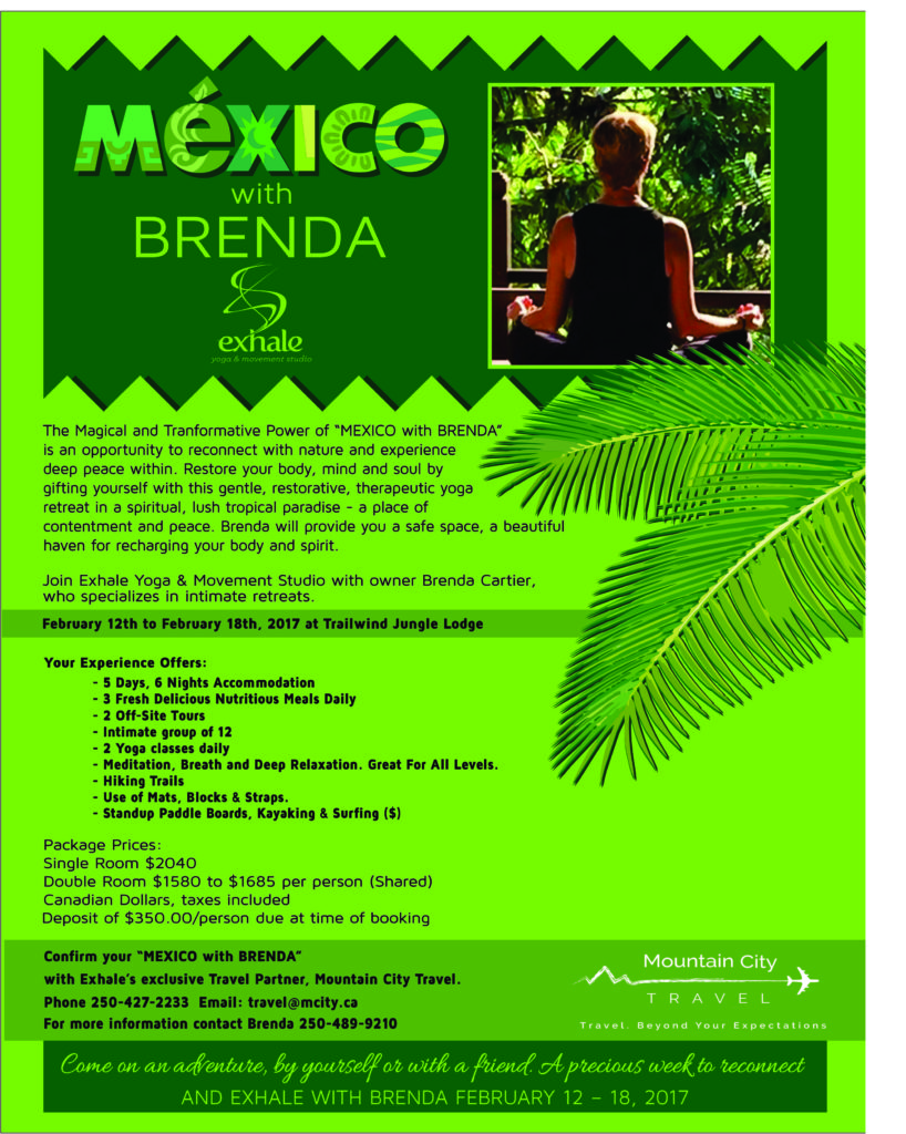 Mexico with Brenda 8.5 x 11